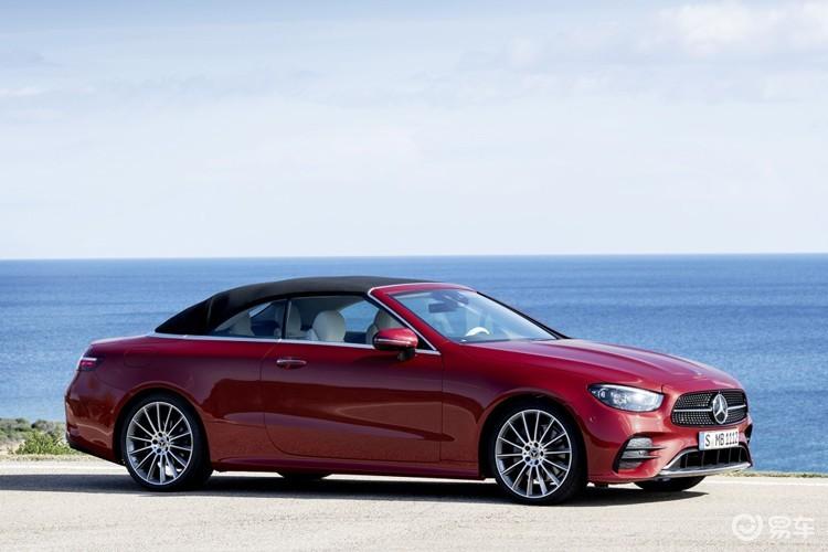 方向盘挺个性 新款奔驰E级双门系列官图发布