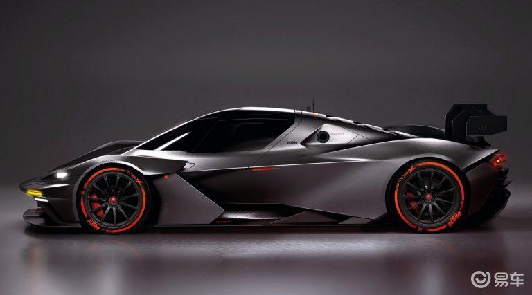 600马力,5缸2.5T, KTM推出GT2赛车