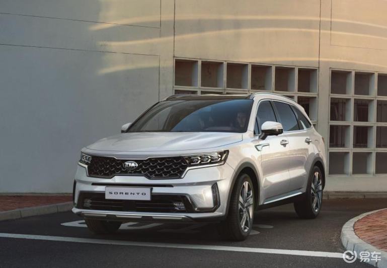 全新起亚索兰托官图发布 将在日内瓦车展首发