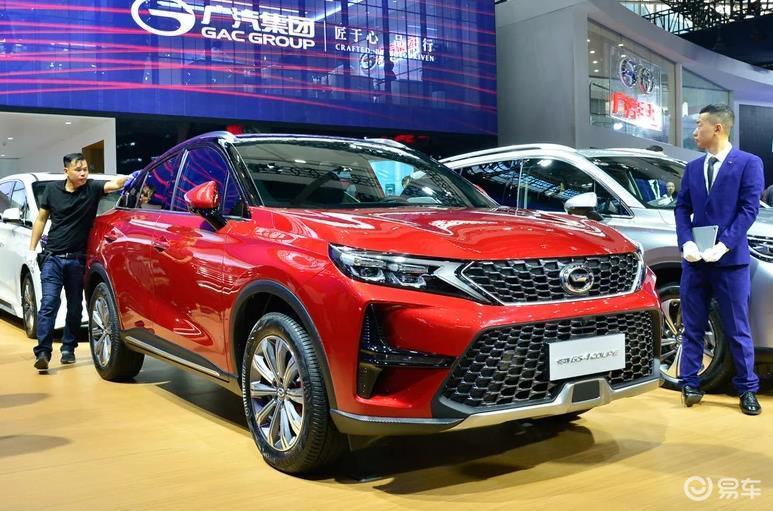传祺GS4 Coupe实拍,5月中旬上市,搭载1.5T