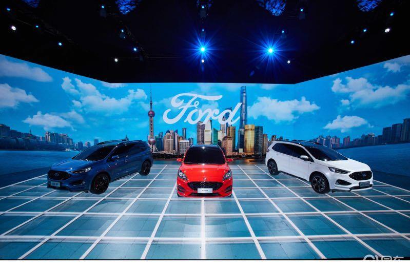 更科技 更福特 更中国福特品牌上海车展大放异彩