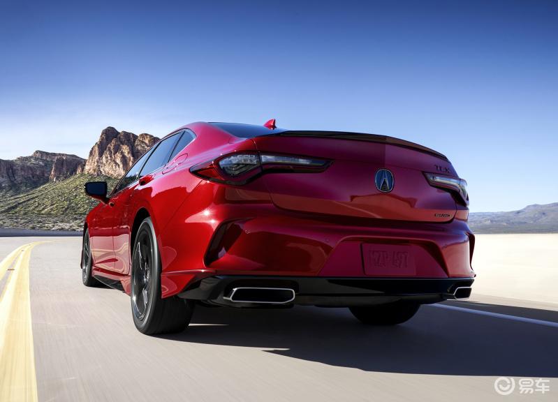 2.0T+10AT 四出运动排气 讴歌运动轿车TLX首发