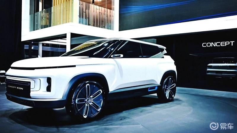 """外形科幻 吉利全新SUV曝光:或将定名为""""icon"""""""