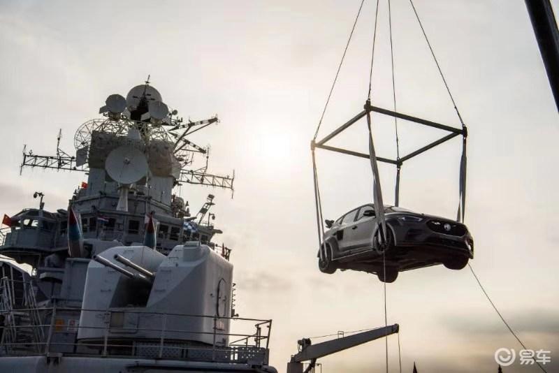 名爵ZS在航母甲板完成百公里加减速挑战