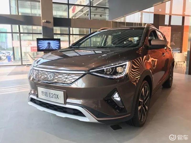 14万以内拿下,江淮大众旗下纯电动SUV——思皓E20 x