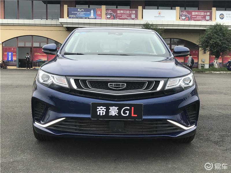 场地体验帝豪GL:配主动刹车,有空气净化系统,动力不赖