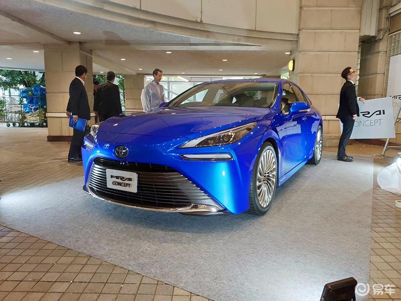 外观大变样/续航增加 丰田全新MIRAI概念车实车