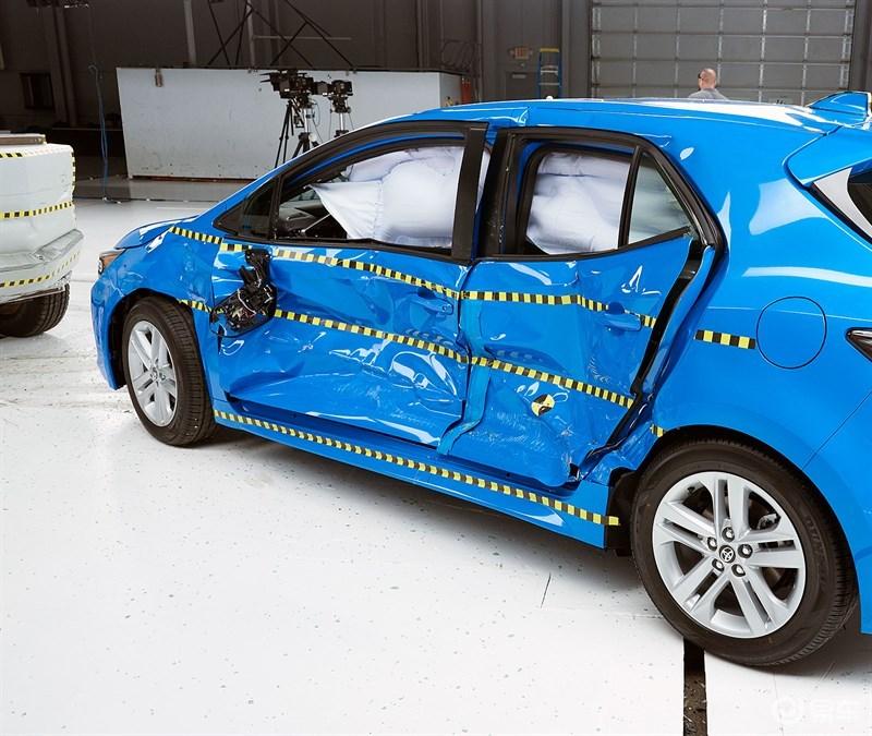 神车卡罗拉碰撞测试报告公布,销量第一不是没有原因的!