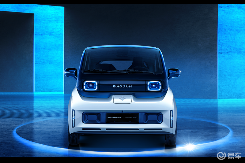 造型极具未来感,新宝骏发布全新微型电动车官图
