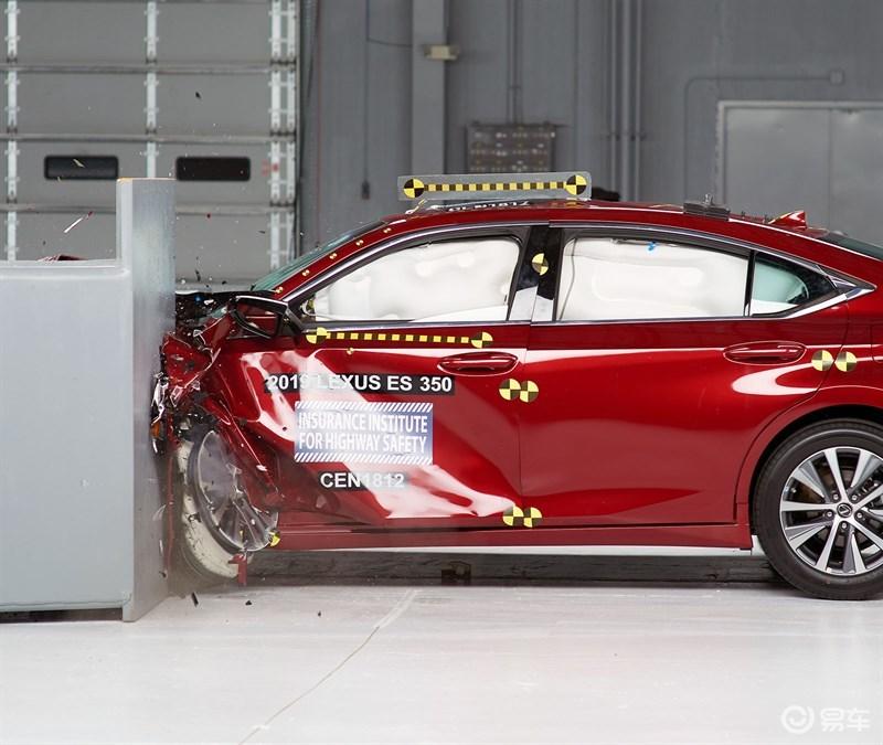 ES碰撞测试报告公布,凭这一点卖的比BBA贵没毛病吧?