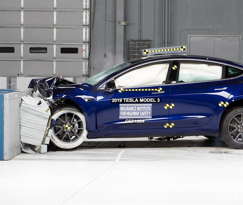 Model 3碰撞测试报告分析,又多了一个买特斯拉的原因