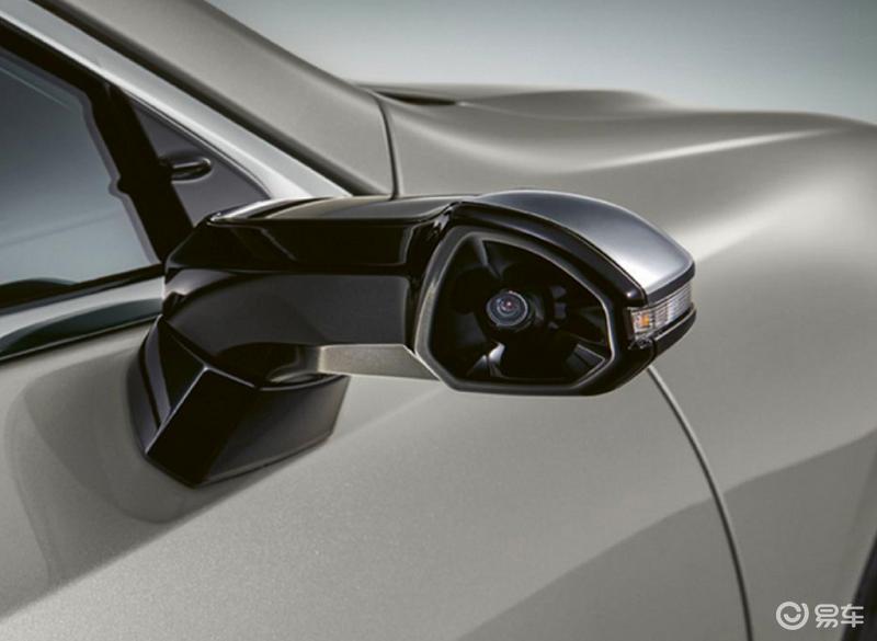 采用流媒体电子外后视镜 雷克萨斯新款ES日内瓦车展亮相