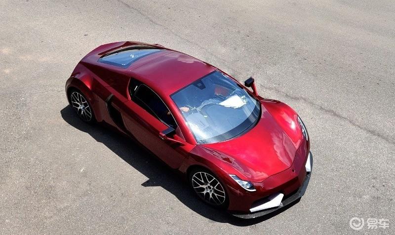 零百加速3.1 纯电跑车Vega EVX将亮相日内瓦车展