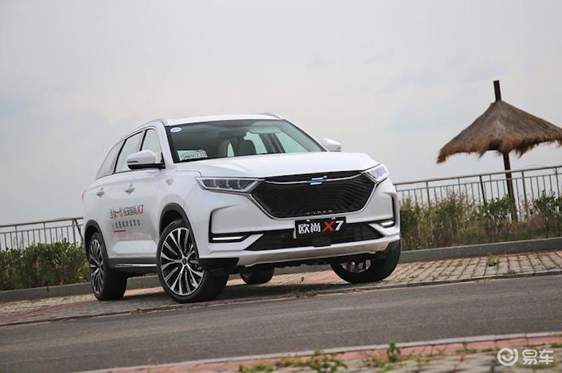 长安欧尚X7新增三款车型 售价10.99万-12.77万