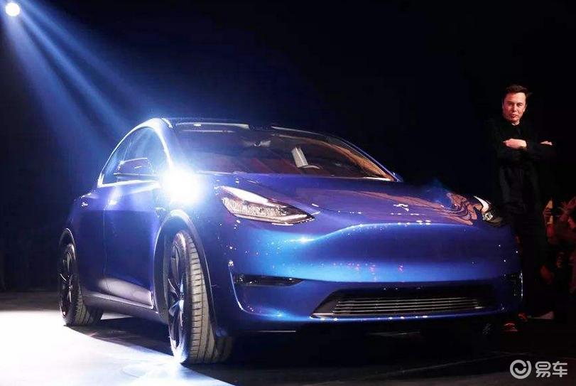 特斯拉Model Y谍照曝光 国内预售价43.5万起