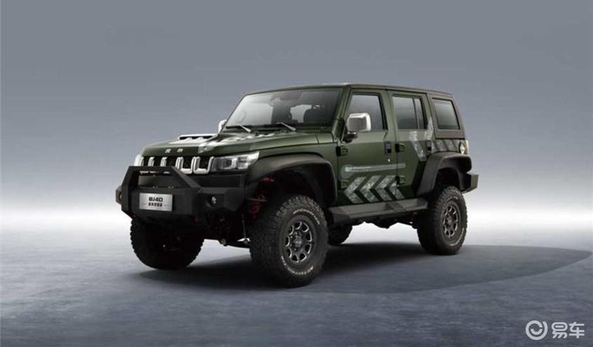 北京BJ40雨林穿越版车型正式上市,售价为26.99万元