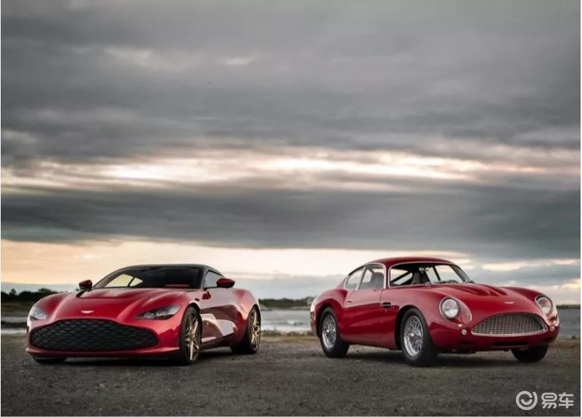 英国绅士 阿斯顿·马丁DBS GT Zagato