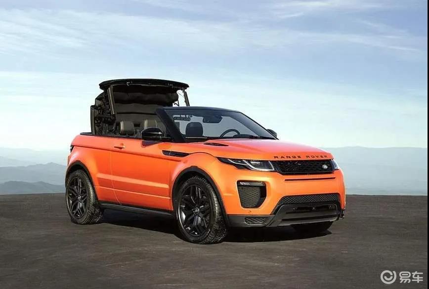 这些敞篷SUV比跑车还吸睛,最便宜只要7万就能买到!