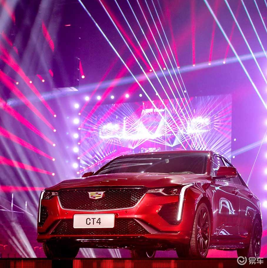 凯迪拉克CT4正式亮相 将2020年上市 纵置后驱平台