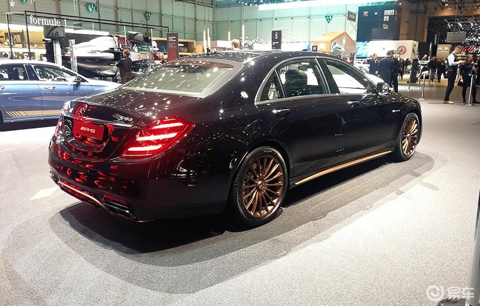 这才是最帅奔驰S级,古铜色轮毂,四座布局,扭矩1千牛米