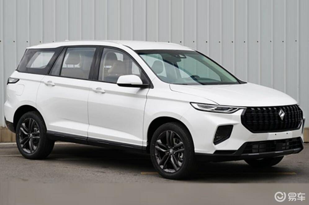 新宝骏RS-7定位中大型SUV,轴距2米9,合资迎新对手