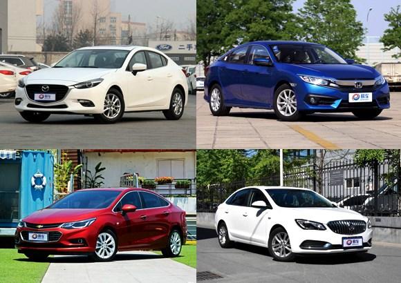 四款运动型紧凑家轿之选