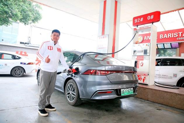 一箱油挑战川西小环线 比亚迪秦PLUS DM-i实测油耗3.98L-第6张图片-汽车笔记网