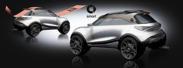 全新smart精灵#1概念车/轻奢进阶